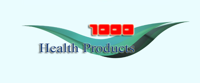 1000 Health Products e-commerce shop: Branding, web design, stationary design and printing.