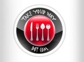 Take You Way: International Food Portal. Brand creation.