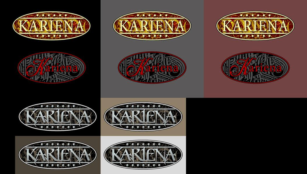 "Brend development, bespoke website for British company ""Kariena"" selling shoes on-line . London, UK."